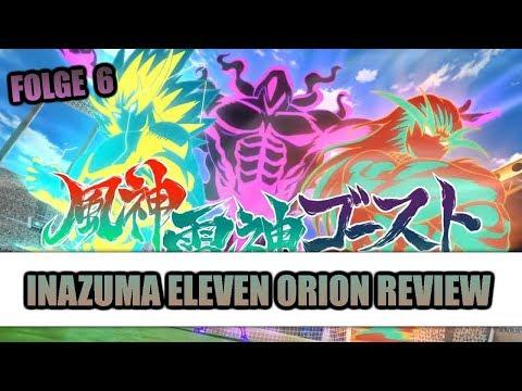 Fuujin Raijin Ghost! Endous vollkommene Technik! Inazuma Eleven Orion - Folge 6 Review (Deutsch)