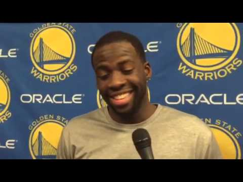 Draymond Green's Interview After Klay Thompson's 37-Point Quarter Is Fantastic