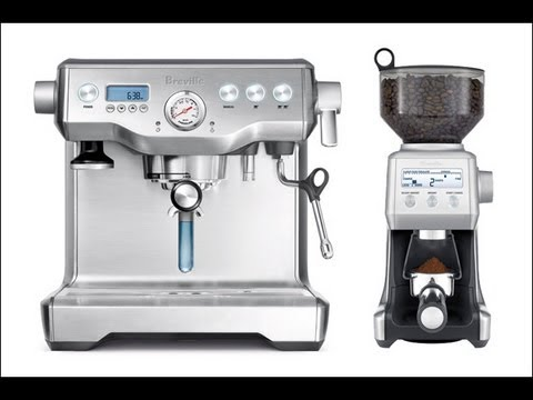 Breville Coffee Maker Water Not Going Out : Breville Dual Boiler Espresso Maker & Smart Grinder Indepth Review - BES900XL, BCG800XL - YouTube