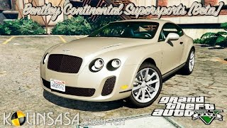 GTA 5 Crash test - Bentley Continental Supersports [Beta]