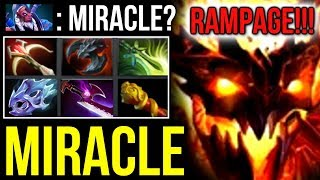 MIRACLE- Shadow Fiend vs Trash Talker! Disaster, Rampage, Comeback, Throw DOTA 2