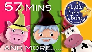 Little Baby Bum | There Was a Crooked Man | Nursery Rhymes for Babies | Songs for Kids