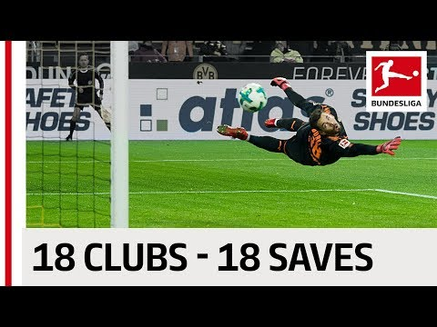 18 Clubs, 18 Saves - The Best Save By Every Bundesliga Team in 2017/18 so far thumbnail
