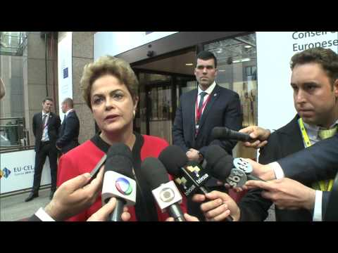 Presidenta Dilma Rousseff discursa na Cúpula Celac-UE na Bélgica