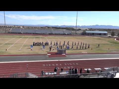 BCHS Marching Band at Sierra Vista High School - 2012