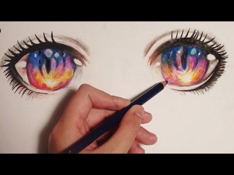 Tutorial: How to Draw Sunset Anime/Manga Eyes