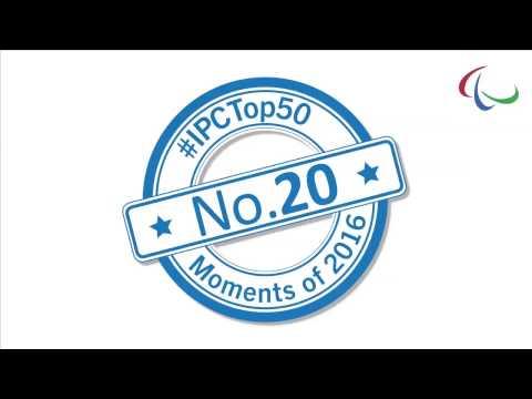 No. 20 Team Agitos athletes impress, help raise awareness
