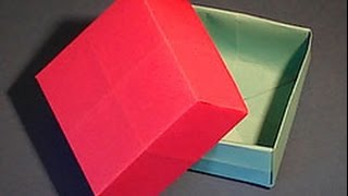 [How To Make a Paper Gift Box!!] Video