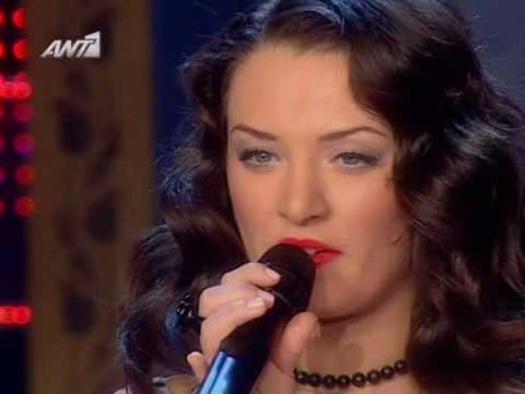 X Factor 2009 Greece - Nini - Live Show 12 - Give It To Me Right