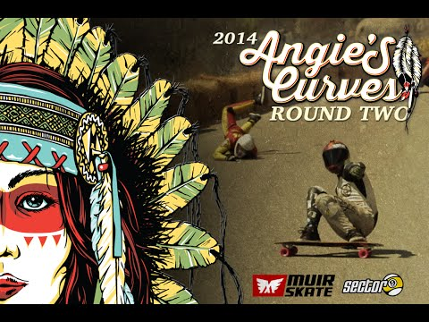 Angies Curves 2014 | Round Two | Muirskate Longboard Shop