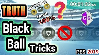 Truth Behind Black Ball Trick in PES 2019 MOBILE