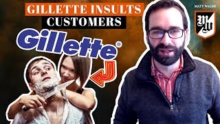Gillette Insults Its Own Customers, Lectures Men | The Matt Walsh Show Ep. 176