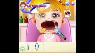 Cure Baby Hazels Mouth (Малышка Хейзел лечит горло)