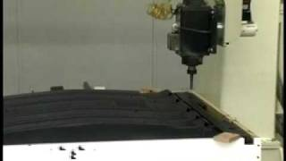 Thermwood Corporation - 5 Axis CNC trimming plastic