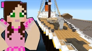 Minecraft: TITANIC MOVIE - DON'T JUMP OFF THE SHIP! - Custom Roleplay [1]