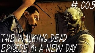Let's Play The Walking Dead_ Episode 1_ A new day #005 [Deutsch] [HD] - Lee's Vorgeschichte