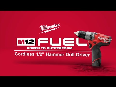 M12 FUEL Cordless 1/2&amp;quot; Hammer Drill/Driver