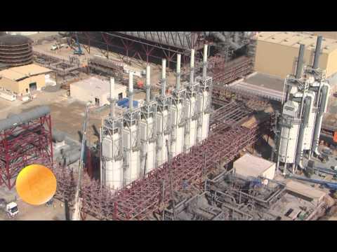 Shams 1 Concentrated Solar Power (CSP) plant, Abu Dhabi, United Arab Emirates (UAE)