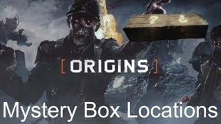 Black Ops 2 Zombies - Origins: Mystery Box Locations
