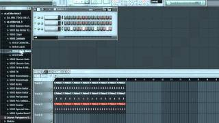 How to make a House Beat in FL Studio 10 - The Drums - | Part 1 | by DJ Dima