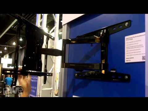 CEDIA 2013: Crimson Mounting Solutions Looks at A Ultra Flat Articulating Arm Mount