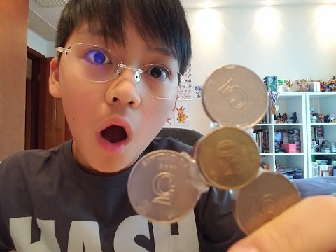 DIY COIN FIDGET SPINNER!!!