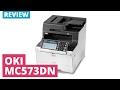 OKI MC573dn A4 Colour LED Laser Printer mp3