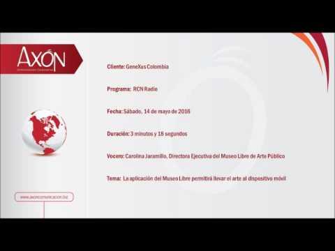 GeneXus en RCN Radio: Entrevista con Carolina Jaramillo