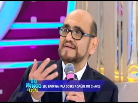 Edgar Vivar, o Seu Barriga no Domingo Legal (18/05/2014)