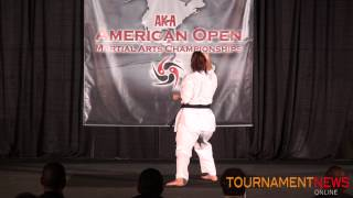 Emily Roeske Women's Overall Forms Grands at American Open 2012
