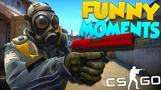 CS:GO Funny Moments - Terrible Players & Team Killing!
