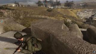 Sniper Elite v2 Nuedorf outpost  my multiplayer gameplay tutorial