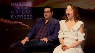 HILARIOUS QUIZ with Murder On The Orient Express cast | Daisy Ridley, Josh Gad, Michelle Pfeiffer