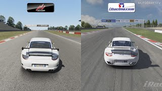 Assetto Corsa vs iRacing - RUF Rt 12 R at Nurburgring