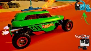 FORZA HORIZON 3 HOT WHEELS RIP ROD TURBINA ROLETADA - GOPRO - VOLANTE G27