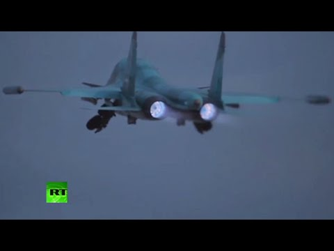 Russian bombers target ISIS positions in Deir ez-Zor from Iran's Hamadan Airbase – MoD thumbnail