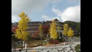 Yonsei University, Wonju Campus - From Seoyeon Dormitories to Main Library (Español)