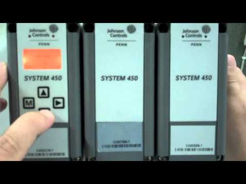 How to program the Johnson Controls System 450