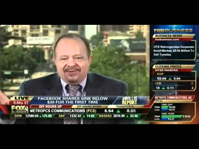 Carol Roth Facebook stock Dewey bankruptcy Willis Report Fox Business
