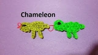 How to Make a Chameleon on the Rainbow Loom - Original Design