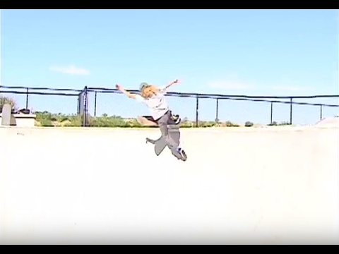 Logan Frank Shreds Skatepark!