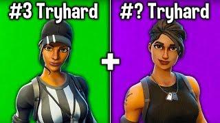 7 MORE SKINS TRYHARDS USE in FORTNITE SEASON 7! (Tryhard Skins)