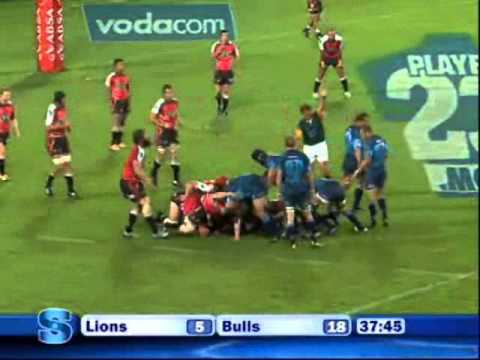 Super Rugby 2011- Round 1- Lions vs Bulls - Lions vs Bulls Rd.1 Highlights Super rugby 2011