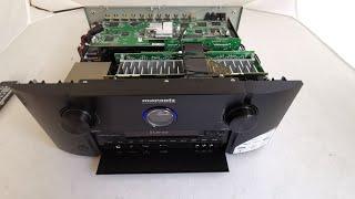 Marantz SR7013 av receiver unboxing and deep unboxing