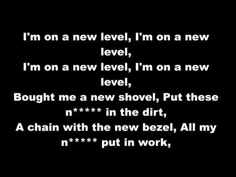 A$AP Ferg ft. Future - New Level (Clean w/ Lyrics)