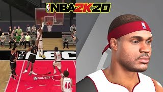 Microwave Jr. Invades the Rec with his Slashing Playmaker - NBA 2K20