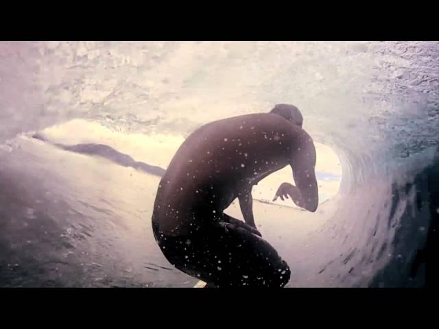 Mitchell Ferris surfing P Pass Micronesia GoPro HD