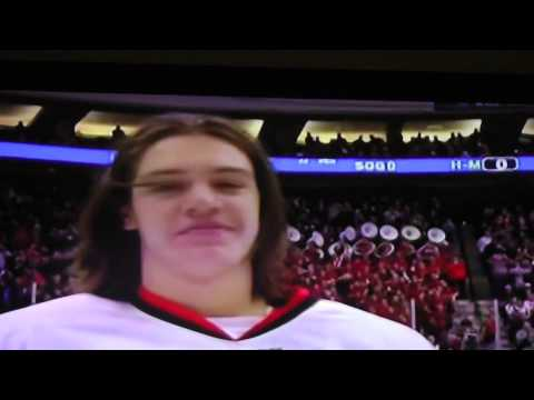 The 2015 Mn State High School All Hockey Hair team! Check it out!  So so so good...