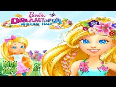 Barbie Dreamtopia - Magical Hair (Budge Studios) - Best App For Kids