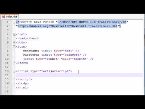 Beginner JavaScript Tutorial - 38 - Accessing Forms